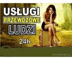 Przewóz osób lub rzeczy  Na Życzenie Klienta  Wyjazdy Cała Polska 24 H